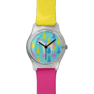 Unicornio del conejito reloj de pulsera
