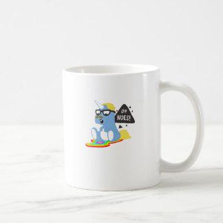 Unicornio del inconformista taza