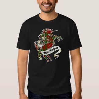 Unicornio del tartán de MacGregor Camisetas