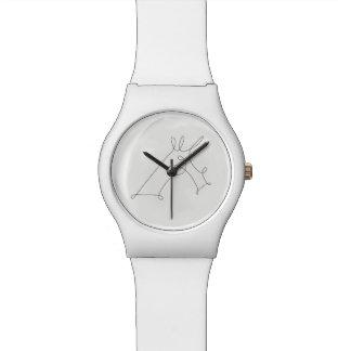 Unicornio garabateado V3 Reloj De Pulsera