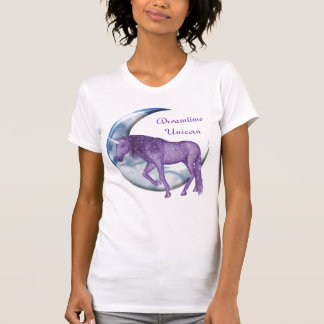 Unicornio ideal del tiempo camisetas