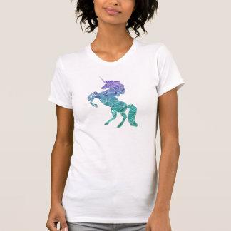 Unicornio mágico geométrico camisetas