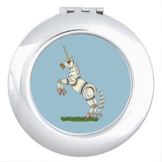 Unicornio mecánico espejos maquillaje