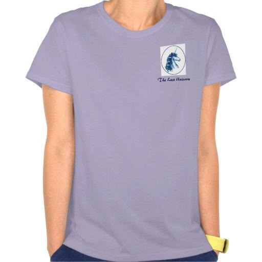 Unicornio pasado - pequeño medallón camiseta