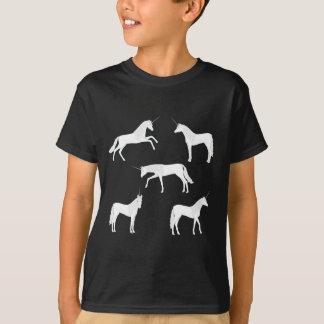 Unicornio selección camiseta