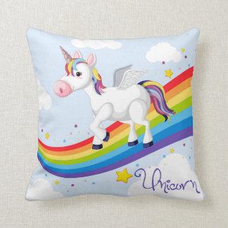 Unicornio y almohada de tiro de Childs del arco