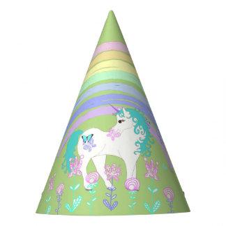 Unicornio y gorra del fiesta de la fiesta de