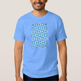 Unicornios azules del punto camisas