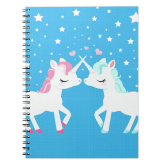 Unicornios en el espiral del amor - cuaderno encua
