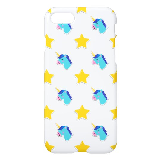 unicornios y estrellas de los iconos de los años funda para iPhone 7