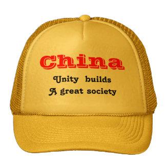 Unidad de China Gorros Bordados