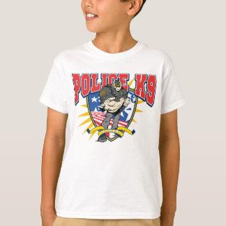 Unidad patriótica de la policía K9 Camiseta