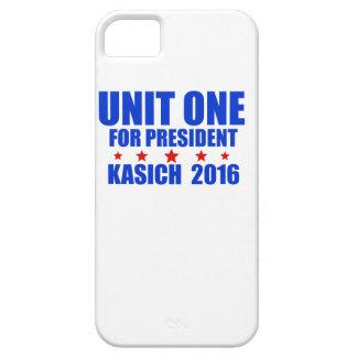 Unidad una para presidente Kasich 2016 iPhone 5 Case-Mate Coberturas