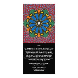 Unidad y Al Noor - tarjeta larga