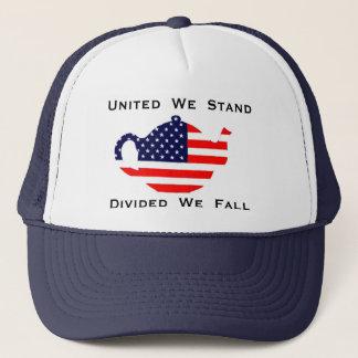 Unido nos colocamos nos dividimos nos caemos gorra