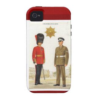 Uniformes militares históricos, guardias de Coldst iPhone 4 Carcasa