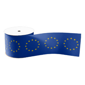 Unión europea de E. - Lazo De Tela Gruesa