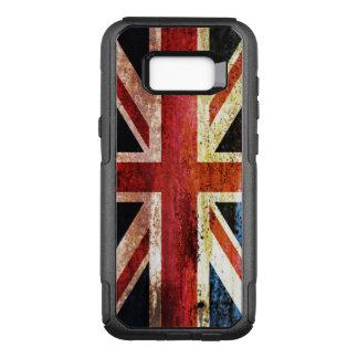 Union Jack anticuado Funda Otterbox Commuter Para Samsung Galaxy S8+