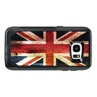 Union Jack anticuado Funda OtterBox Para Samsung Galaxy S7 Edge