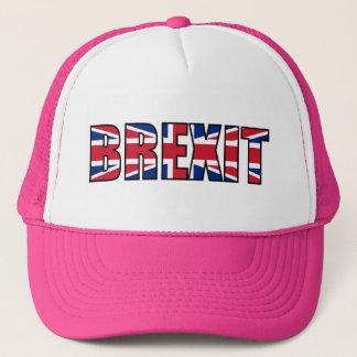 Union Jack Brexit, rosa blanco Gorra De Camionero