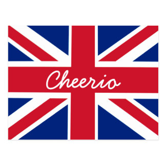 Union Jack Cheerio Postal