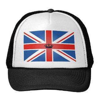 Union Jack con la corona central Gorro
