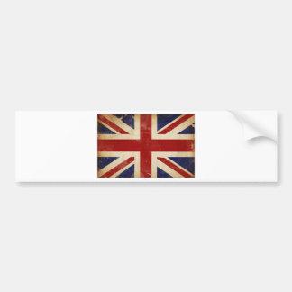 Union Jack Pegatina Para Coche