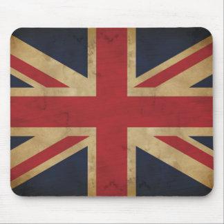 Union Jack tradicional viejo Mousepad