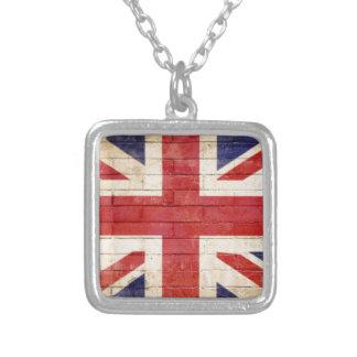 unionflag collar plateado