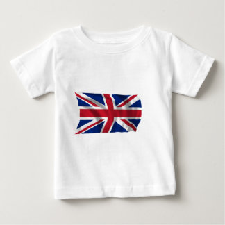 Unir-reino-Bandera Camiseta De Bebé