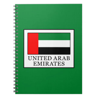 United Arab Emirates Cuaderno