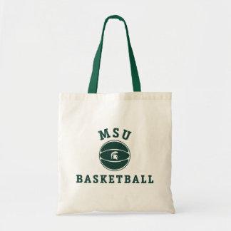 Universidad de estado del baloncesto el | Michigan Bolso De Tela