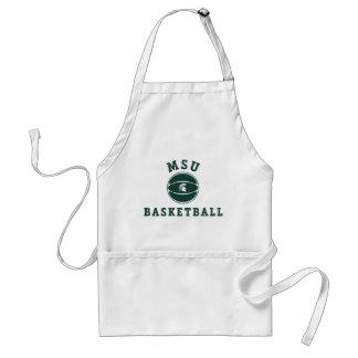 Universidad de estado del baloncesto el | Michigan Delantal