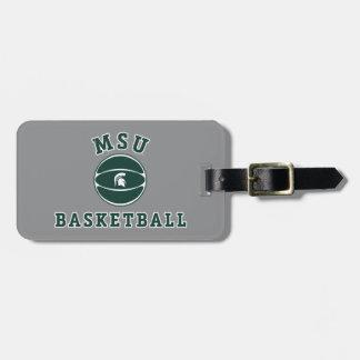 Universidad de estado del baloncesto el | Michigan Etiqueta Para Maletas