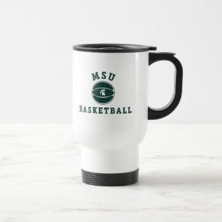 Universidad de estado del baloncesto el | Michigan Taza De Viaje