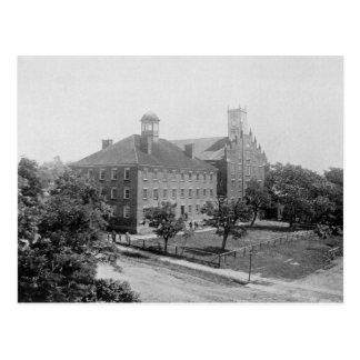 Universidad de Jefferson, Canonsburg, PA en 1860 Postal