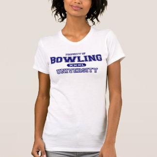 Universidad de los bolos camiseta