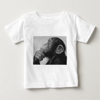 universidad del mono camiseta de bebé