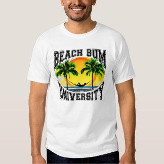 Universidad del vago de la playa camisas