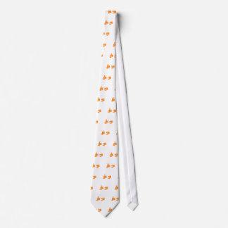 Universidad divertida del dedo medio de la corbata personalizada