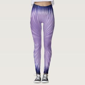 Universo púrpura leggings