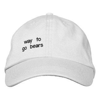 uno de una clase gorras bordadas