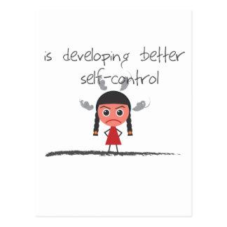 uno mismo-control-chica postal