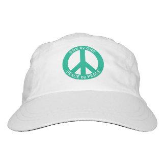 Uno por uno paz por el gorra tejido paz gorra de alto rendimiento