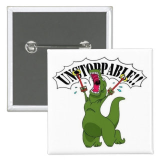 Unstopable T-Rex Chapa Cuadrada