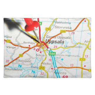 Uppsala (Upsala) en Suecia Salvamanteles