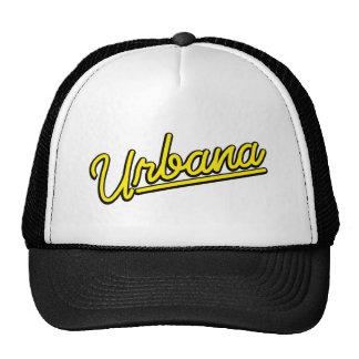 Urbana en amarillo gorras