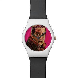 UrbnCape reloj blanco y negro de Paul