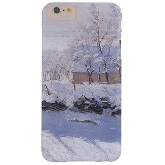 Urraca de Claude Monet-The Funda Barely There iPhone 6 Plus