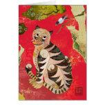 Urraca y tigre: Arte popular coreano Tarjeta